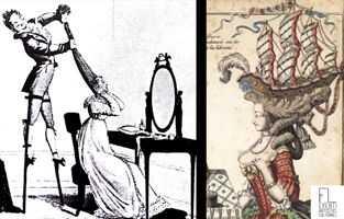 Le acconciature stravaganti di Maria Antonietta