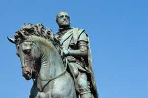 Curiosità fiorentine cavallo Cosimo I