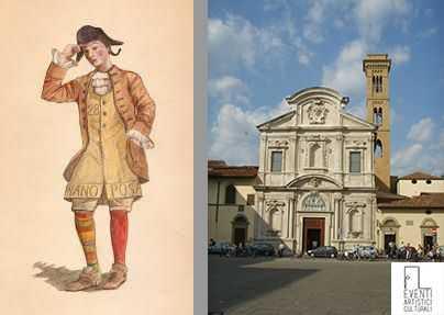La storia e le origini della tipica maschera di Firenze: Stenterello.