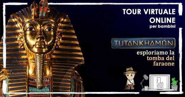 Tour virtuale tutankhamon